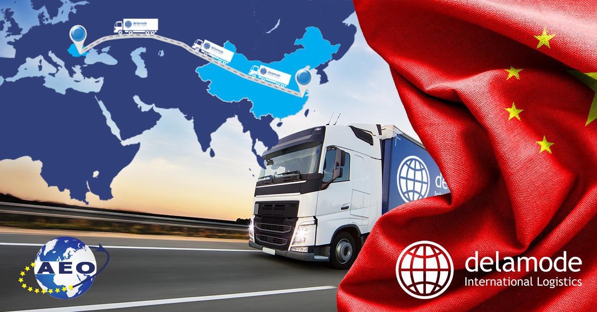 Delamode Romania conectează China și România printr-un nou serviciu FTL