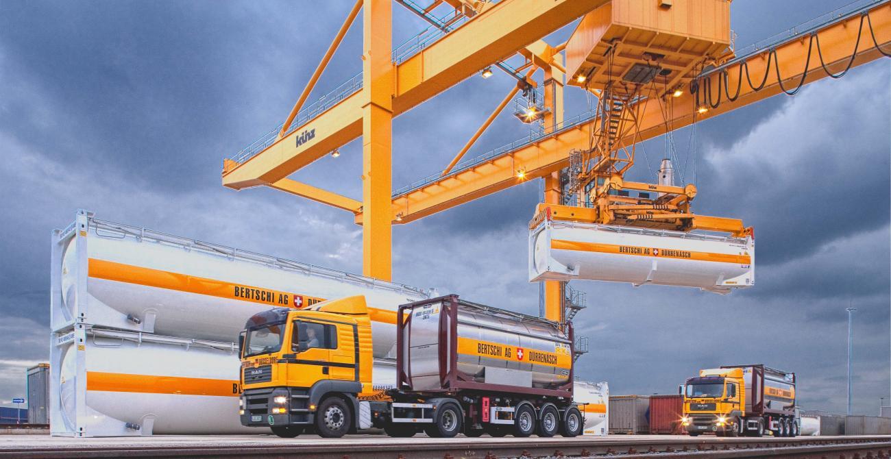 Bertschi investește în operatorul feroviar de stat SBB Cargo