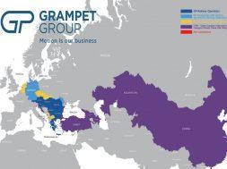 GRAMPET operează în România, Ungaria, Bulgaria, Republica Moldova, Slovacia, Croaţia, Austria, Germania, Serbia şi Grecia