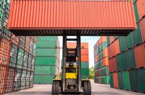 Primul transfer al unui container intermodal prin platforma de blockchain DELIVER