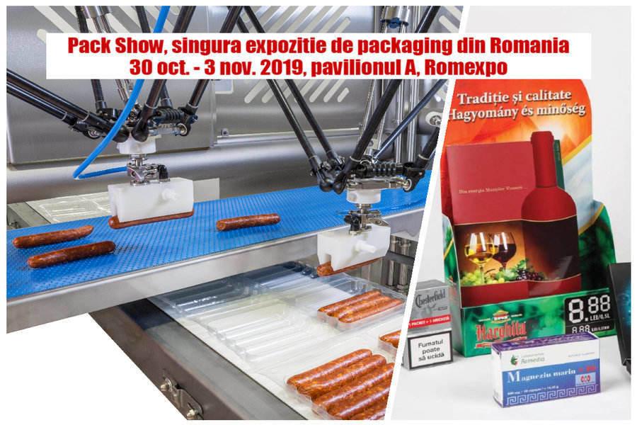 Miercuri se deschide Pack Show 2019, locul de întâlnire al industriei de packaging