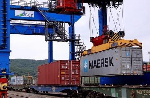 Maersk a lansat primul serviciu combinat maritim-feroviar între Asia și Europa