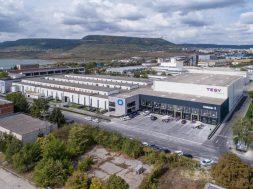 Tesy a inaugurat un nou depozit logistic la Sumen, Bulgaria