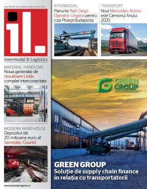 Coperta revista intermodal logistics