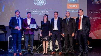 Cefin a livrat 1000 de camioane Ford Trucks in Romania