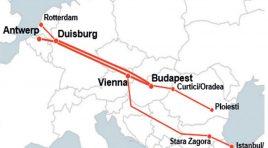 Tot mai multe rute conectează Antwerp de sud-estul Europei