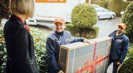 Gebruder Weiss depășește 1 milion de transporturi în 2019 în cadrul diviziei Home Delivery