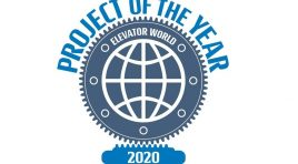 "Elmas a câștigat un nou premiu ""Project of the Year 2020"" cu liftul Mega Elevator"
