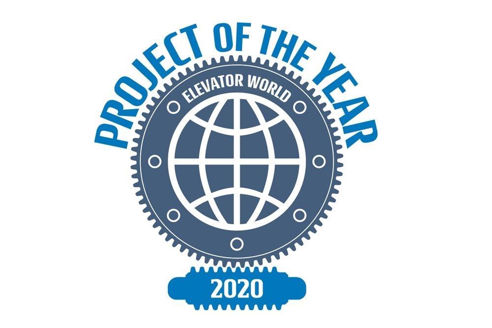 """Elmas a câștigat un nou premiu """"Project of the Year 2020"""" cu liftul Mega Elevator"""