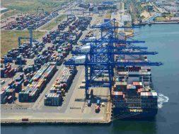 Carantina Covid-19 nave comerciale in Port Constanta