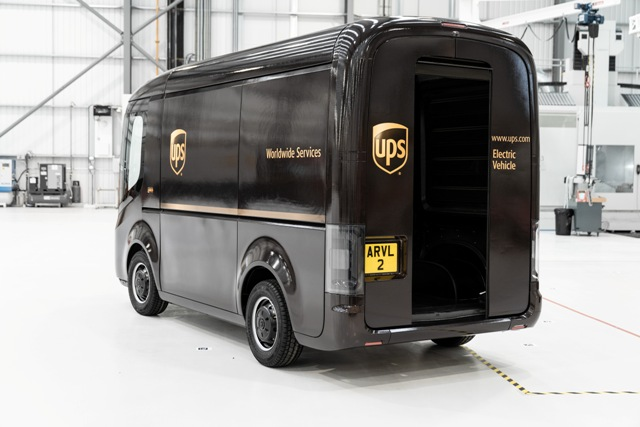 UPS foloseste vehiculele electrice Arrival pentru livrări