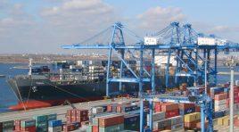 Traficul de containere prin terminalele de la Marea Neagră a scăzut în 2020