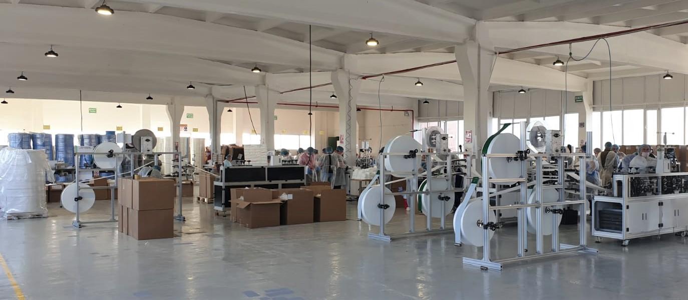 Grupul TAPARO investește 20 de milioane de euro în prima fabrică de textile medicale