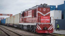 S-a reluat traficul feroviar de marfă pe relația Wuhan-Europa