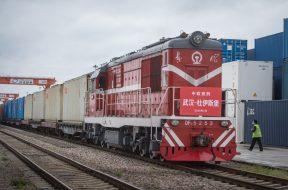A fost reluata circulatia trenurilor intre Wuhan si Europa, dupa coronavirus