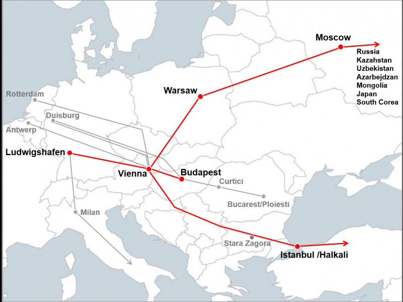 Hupac lansează un nou serviciu feroviar între Viena și Varșovia