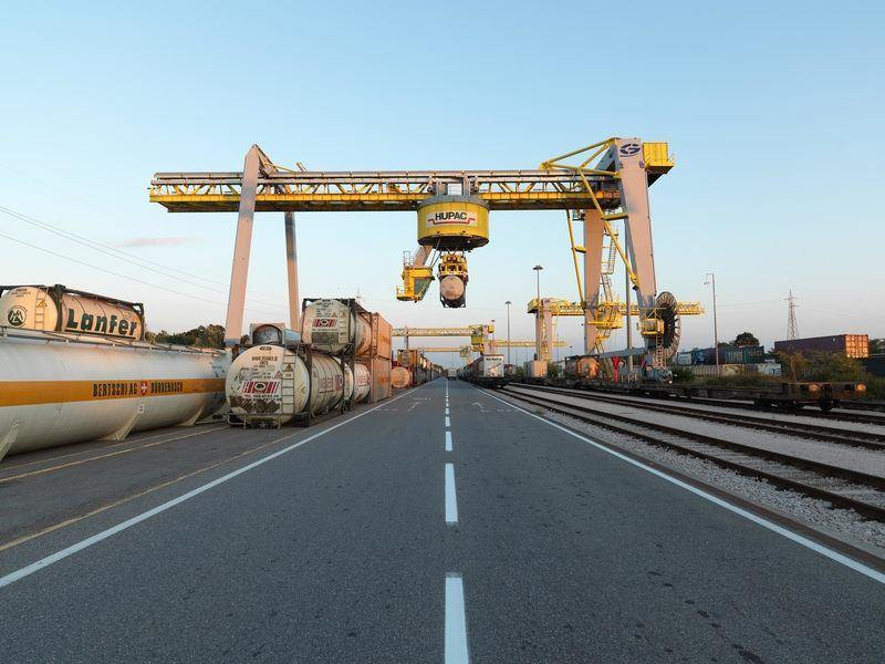 Hupac: 1 milion de transporturi rutiere transferate pe cale ferată în 2019
