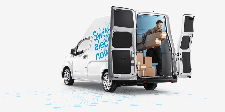 Nissan și Voltia lansează e-NV200 XL Voltia, un van electric optimizat pentru livrările last mile