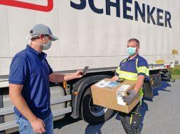 DB Schenker lanseaza serviciul de confirmare a livrarii fara contact