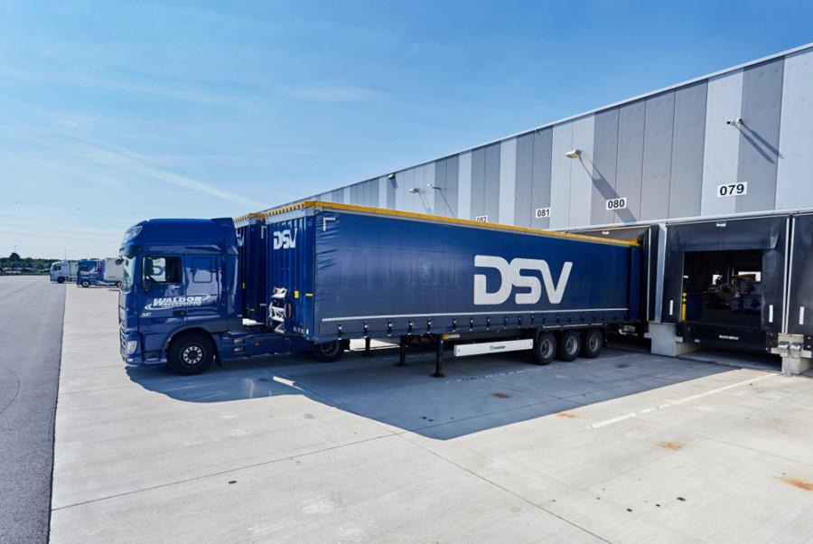 DSV a lansat serviciul de transport rutier între China și Europa