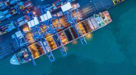 Scădere de 10,3% a traficului de containere la nivel global în 2020
