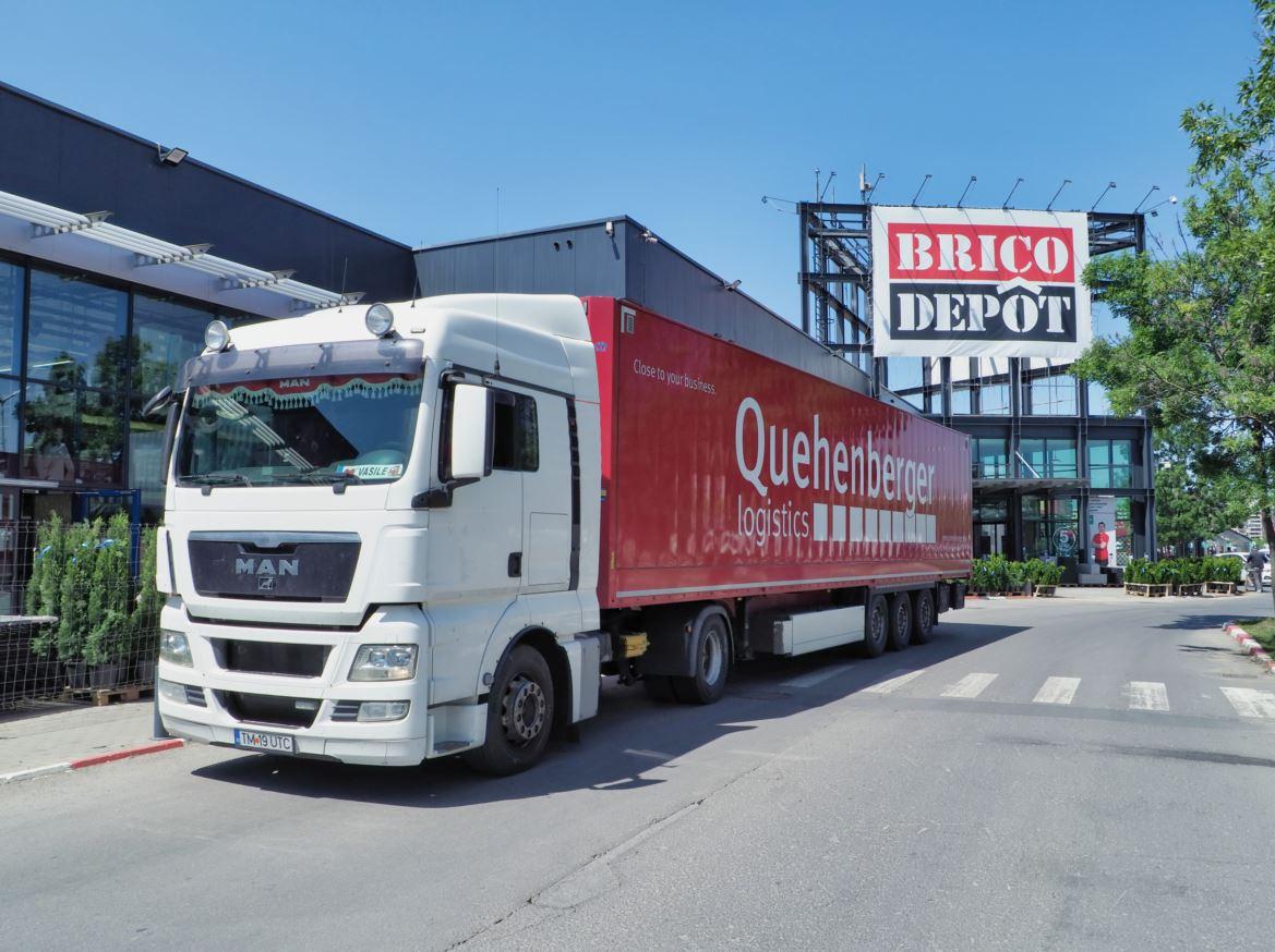Quehenberger Logistics implementează un proiect de logistică integrată pentru Brico Depot în România
