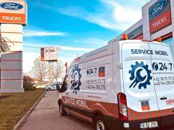 Cefin devine service autoritat pentru vehicule comerciale usoare Ford