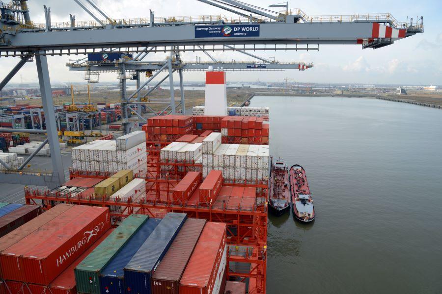 Creștere importantă pentru containerele reefer în Portul Antwerp