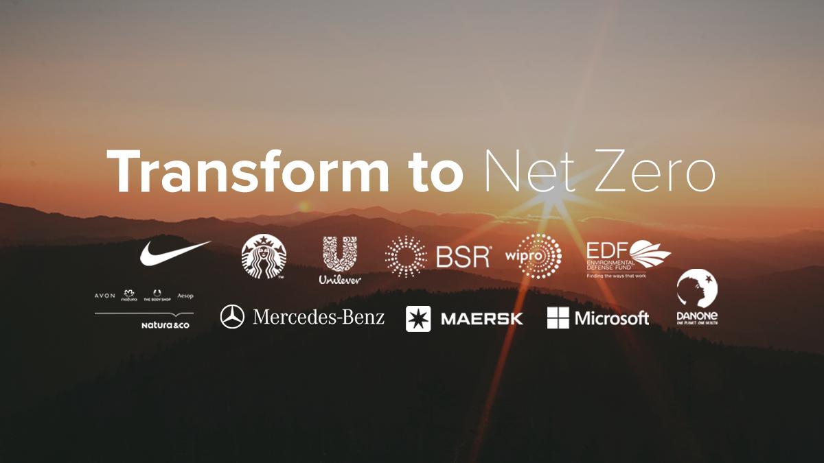 Transform to zero: Nouă giganți creează o alianță pentru un viitor cu zero emisii