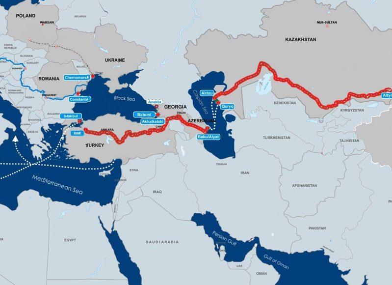 Record pentru un tren de marfa- 12 zile din China pana in Turcia