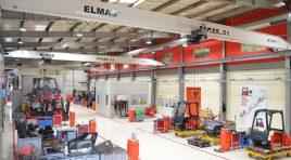 Elmas oferă o nouă viață stivuitoarelor uzate prin procesul de refabricare