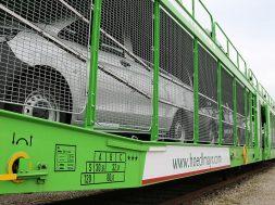 Hodlmayr transporta 63.000 masini din Ungaria pe cale ferata