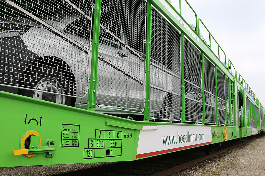 Volume de transport pe cale ferată în creștere pentru Hödlmayr
