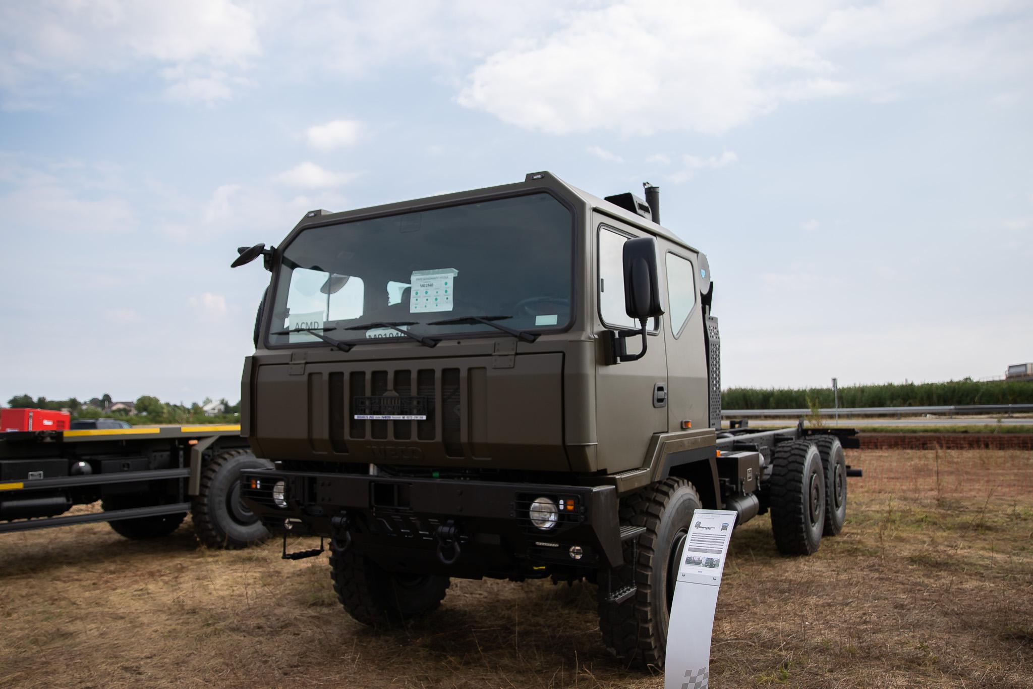 Iveco Defence Vehicles începe lucrările la fabrica din Petrești, Dâmbovița