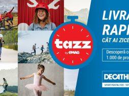 Decathlon incheie un parteneriat cu Tazz by eMag