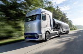 Daimler Trucks - conceptul Gen H2 - camion cu pile de combustibil