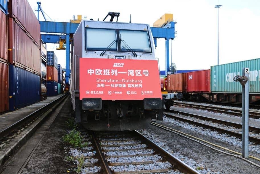 Sinotrans dezvoltă o legătură feroviară între Shenzen și Duisburg