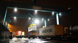 Portul Rotterdam: primul serviciu feroviar direct către China