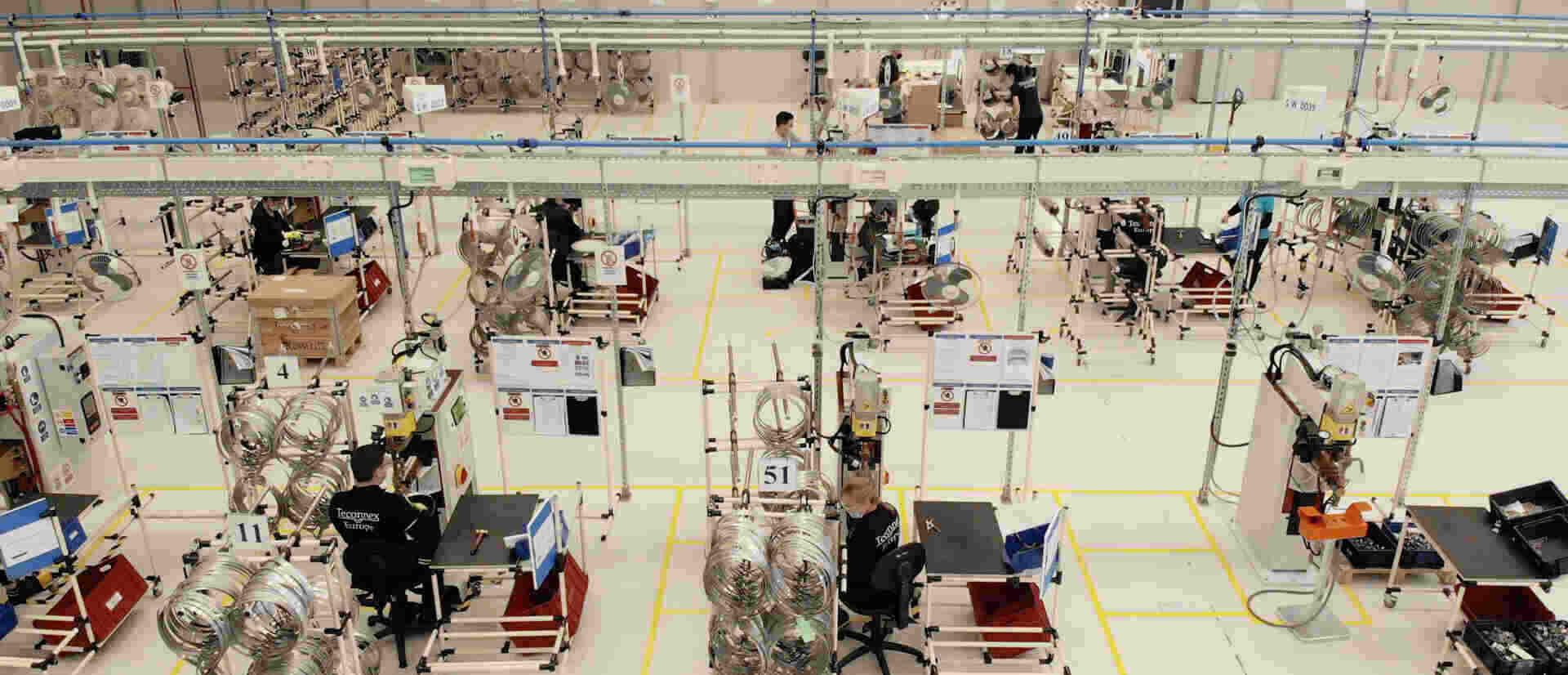 Teconnex încheie prima fază a construcției fabricii din Cluj