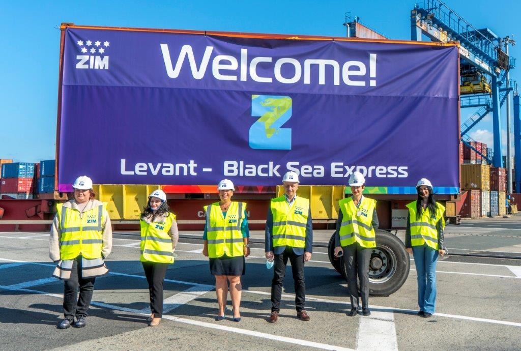 ZIM lansează serviciul maritim Levant – Black Sea Express (LBX)