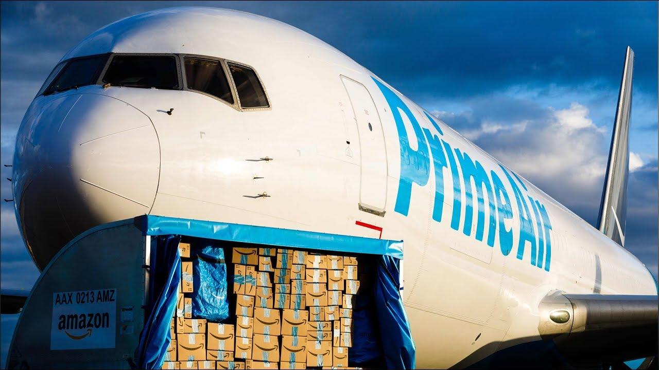 Amazon deschide primul hub Amazon Air în Europa
