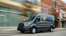 E-Transit: primul model Transit 100% electric de la Ford