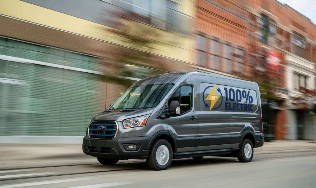 E-Transit: primul model Transit 100% electric de la Ford