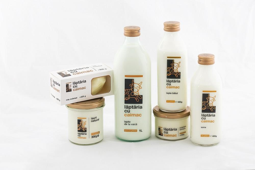 Producătorul de lactate Lăptaria cu Caimac este pregătit să exporte în UE