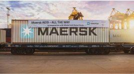 Maersk dublează capacitatea serviciului de transport combinat AE19
