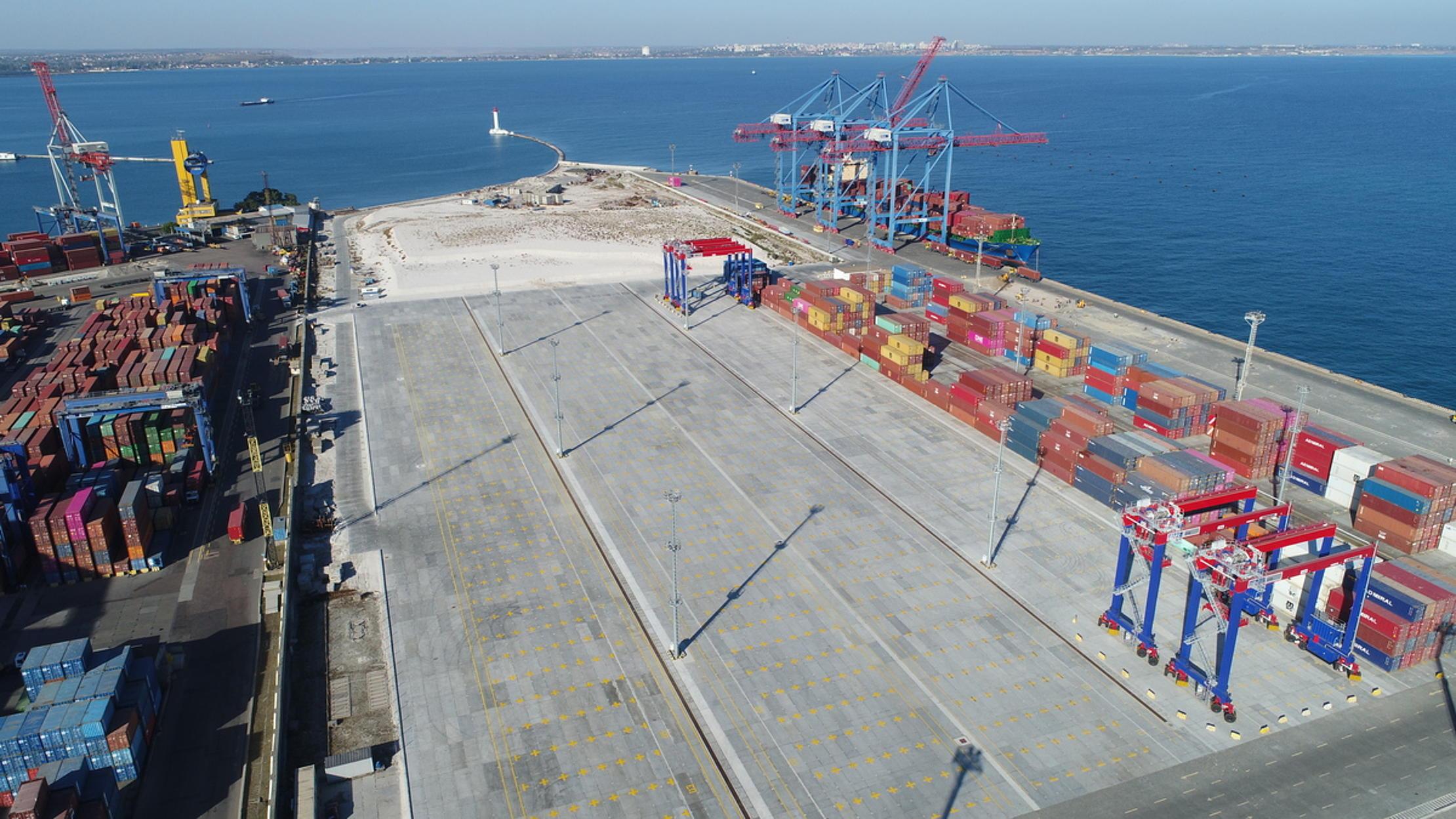 Investiție de 170 milioane euro în terminalul de containere HHLA din Odessa