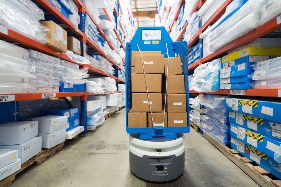 Robotică: Vânzările de roboți pentru logistică au crescut cu până la 110%