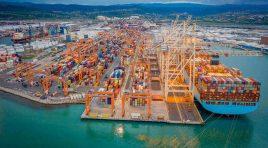 Un nou record pentru terminalul de containere din Portul Koper