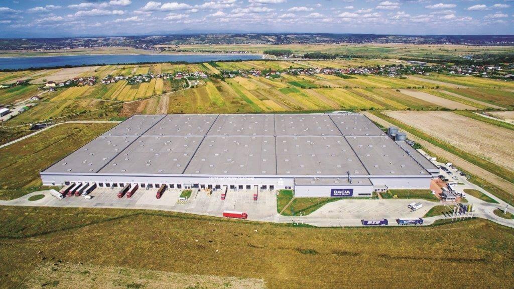 Automobile Dacia extinde contractul de închiriere cu Globalworth pentru centrul de distribuție a pieselor de schimb de la Oarja