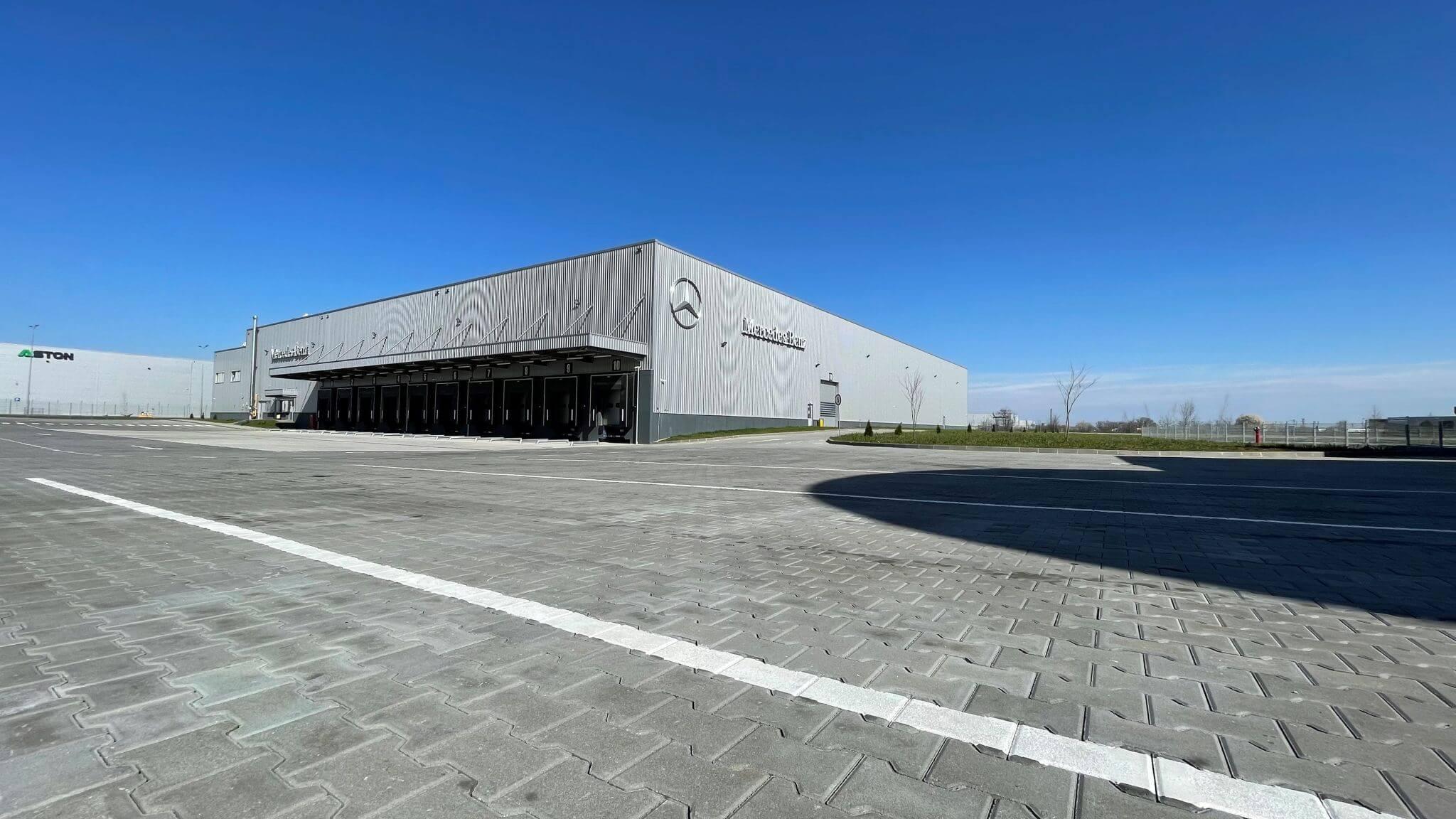 Mercedes-Benz România a inaugurat Centrul de Logistică din Dragomirești-Vale